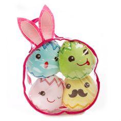 Martha Stewart Pets® Easter Egg 4-Piece Dog Toy - Squeaker | Toys | PetSmart
