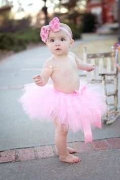 Pink Princess First Birthday Tutu and by MudpiesandPigtails, $37.95