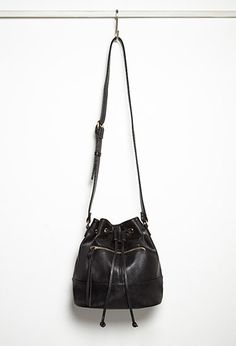 Faux Leather Bucket Bag | Forever 21 - 1000180758