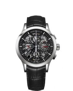 Les Grandes Classiques Semi-skeletonised chronograph - Numbered serie