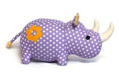 Rhino Plush Toy Pattern
