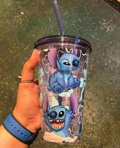 Lilo And Stitch Quotes, Lelo And Stitch, Disney Cups, Cute Water Bottles, Estilo Disney, Cute Stitch, Cute Cups, Cute Room Decor, Cute Disney Wallpaper
