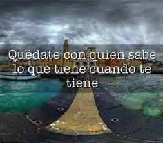 Palabras sabias! :)