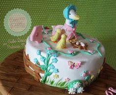 Beatrix Potter cake  Doçuras da Patty