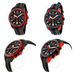 Certina podium aluminium red comparison Red Watches, Clocks