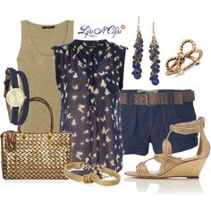 Flutter By, created by lipsnclips on Polyvore