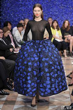 Christian Dior Haute Couture - Fall 2012 / Photographer: Anthea Simms| via Flare
