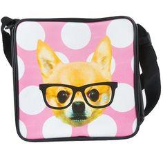 JiP Funky Dog Shoulder Bag available at KidsDoTravel http://kidsdotravel.co.uk/childrens-backpacks-shoulder-bags-and-kit-bags/backpacks-and-shoulder-bags-for-younger-children/funky-dog-shoulder-bag