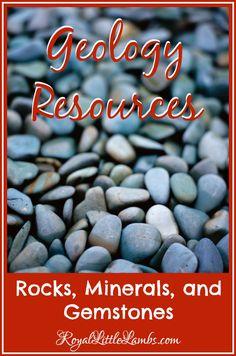 Geology Resources - Rocks, Minerals, and Gemstones + HUGE Worldwide Field Trip List
