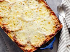 Saw her make this on tv.... Omgoodness looks soooo good!!! Eggplant Parmigiana Recipe : Alex Guarnaschelli : Food Network