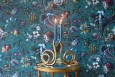 Florika Petrol £145.00 From the House Of Hackney AW 2016 Wallpaper Mural Collection