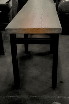 Industrial Table // Custom Furniture // Www.jakobefurniture.com