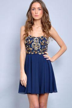 TFNC Amelia Embellished Dress