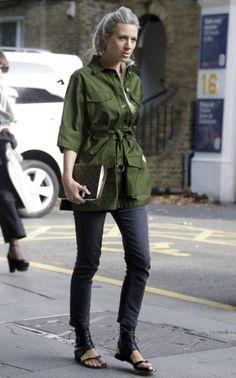 British Vogue's Sarah Harris