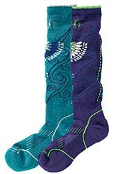 Smartwool Frilly Snow Socks.