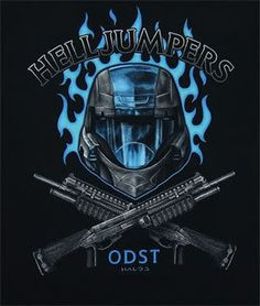 ODSTs are the best soldiers available to the UNSC without genetic modification. ODSTs are real, none of that genetic cheating like the Spartans. Halo 3 ODST was my favorite game of the Halo franchise, and ODSTs are my flesh and blood Gi Joe, Odst Halo, Halo Armor, Halo Master Chief, Halo Series, Halo Game, Halo Reach, Red Vs Blue, Armor Concept