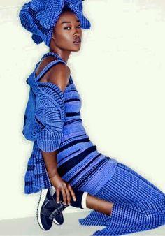 Afro Style Magazine | Traditional + Street = Afro Fusion | BRITISH - NIGERIAN fashion model Betty Adewale | Headwrap