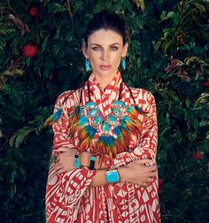 Liberty Ross photographed by Lisa Eisner for Vanity Fair UK, August Makeup by Pati Dubroff. Gypsy Style, Style Me, Liberty Ross, Hobo Chic, Modern Bohemian, Hippie Chic, Jewelry Branding, Color Inspiration, Fine Jewelry