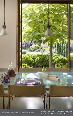 Wnętrze domu szeregowego. Projekt i realizacja: lengiewicz-charkiewicz.com  (fotografia: Hanna Długosz)