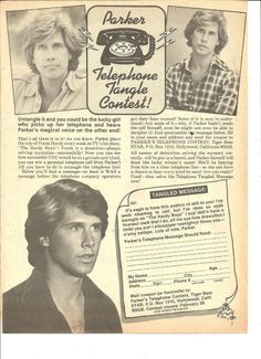 Parker Stevenson, Full Page Vintage Clipping