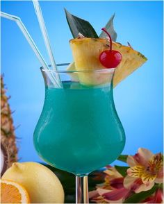 Blue Hawaii Cocktail is a gorgeous light drink made from blue Curacao, sweet and sour mix, rum, and pineapple juice etc.