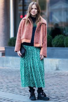 What To Wear When You're Cold, But You're Also Fashion+#refinery29
