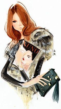 Modeconnect.com - Fashion Illustration by Nuno DaCosta