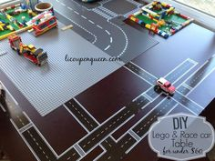 Children's Lego Table for a fraction of the cost. #diy #lego #kids