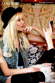 Even COVERGIRLs have a silly side! Behind-the-scenes with NERVO at the Top DJ's Dance Party hosted by Rolling Stone.
