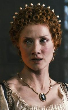 Joely Richardson as Queen Elizabeth I (1560)