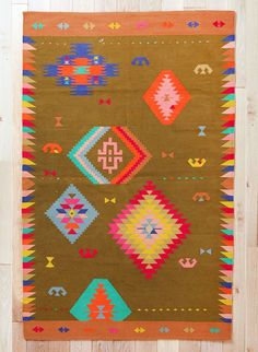 Kilim rug by Beci Orpin for Urban Outfitters