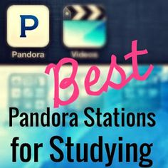 Best Pandora stations for studying. Just in case you need it! College Hacks, School Hacks, College Life, School Tips, School Ideas, School Stuff, College Ready, College Checklist, College Dorms