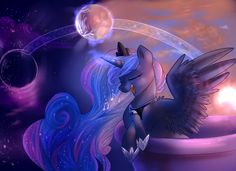 Moon lullaby by Segraece.deviantart.com on @DeviantArt
