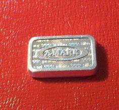 Rare 1980 A-Mark 1 Ounce Silver Ingot