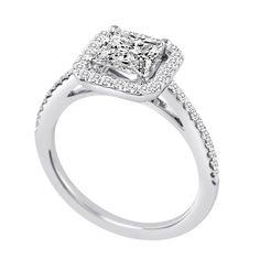 Orderly 18k White Gold Bezel Cubic Zirconia Bridal Wedding Engagement Antique Pendant Bridal & Wedding Party Jewelry