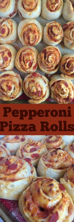 An easy, homemade yeast dough is the base of these pepperoni pizza rolls. Stuffed with pizza sauce, parmesan cheese, mozzarella cheese, and…