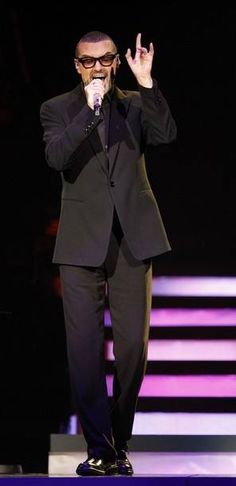 George in a suit...nothing better