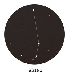 Aries Star Constellation Art Print