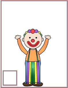Juggling Clown Counting Mat