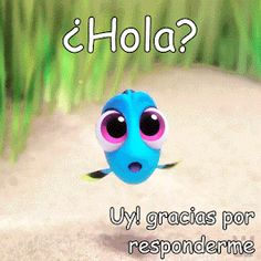 The perfect Doris FindingDoris Fish Animated GIF for your conversation. Good Morning Music, Funny Good Morning Quotes, Morning Greetings Quotes, Good Morning Good Night, Morning Messages, Jesus Pictures, Funny Pictures, Love In Spanish, Mafalda Quotes