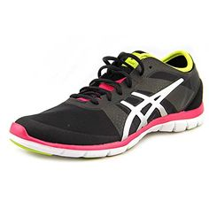 watch 26b85 93781 ASICS Womens Gel Fit Nova CrossTraining ShoeBlackSilverHot M US -- See this  great product-affiliate link.