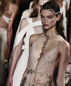 """runwayandbeauty: """" Finale at Valentino Spring/Summer 2016 Couture. """""""