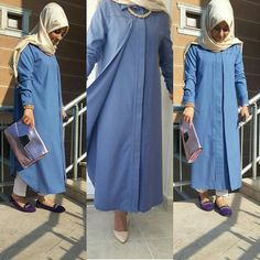 Islamic Fashion, Muslim Fashion, Women's Fashion, Modele Hijab, Biryani Recipe, Hijabs, Fashion Inspiration, Shirt Dress, Clothes For Women