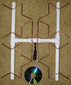 Make Your Own Long Range Fractal Tv Antenna   Google Search