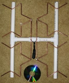 make your own long range fractal tv antenna - Google Search