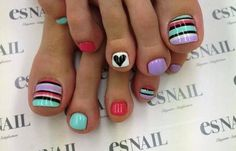 12 Adorable Toe Nail Polish Designs