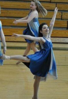 Dance Pageant Ballet Lyrical Competition Costume Dress Blue Swarvoski Stones | eBay
