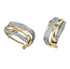 0a153cbd9106 Aretes oro 14k con 25 puntos de diamante Precio en boutique  11