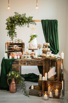 Would be a beautiful theme for a Woodland baby shower! #woodland #babyshowerideas #babyshowerthemes