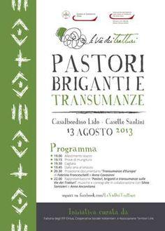 Pastori Briganti e Transumanze, Casalbordino, 13 agosto 2013